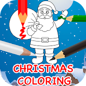 Christmas Colouring Book Games