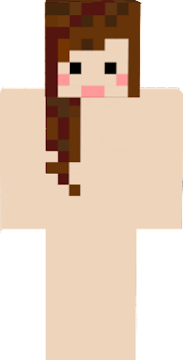no, this is not to show her skin , its so i can make skins for her c: