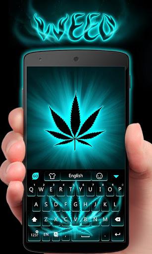 玩免費個人化APP|下載GO Keyboard Theme Weed app不用錢|硬是要APP