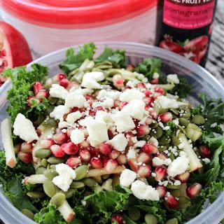 Pomegranate Kale Salad.