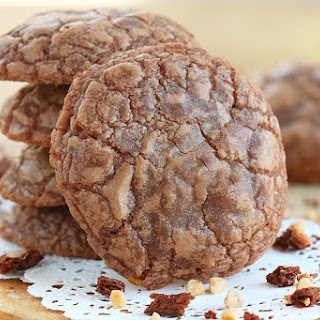 Toffee Crunch Chocolate Cookies