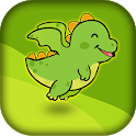 Flying Dino - Flappy Adventure icon
