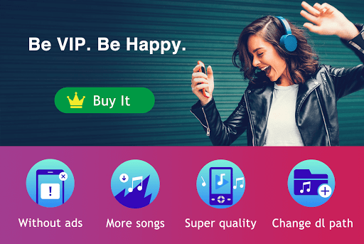 Screenshot for Free Mp3 Music Downloader for VIP in United States Play Store