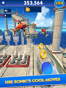 Sonic Dash v3.3.0.Go Mod Money + Unlocked + Ads Free