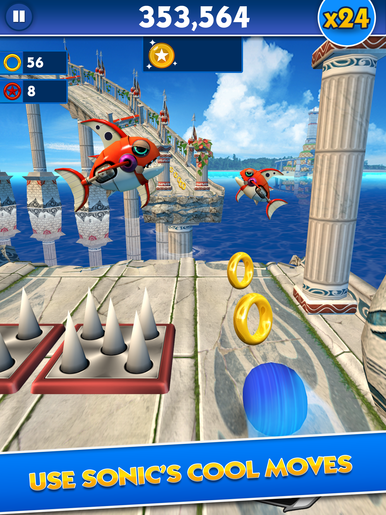 Sonic Dash screenshot #8