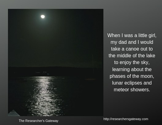 Lunar Phases - Researcher's Gateway, Childhood memories
