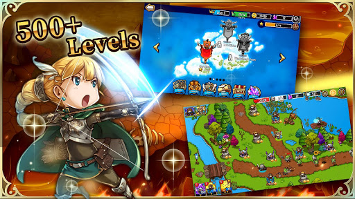 Crazy Defense Heroes: Turmverteidigung spiel TD APK MOD screenshots 1