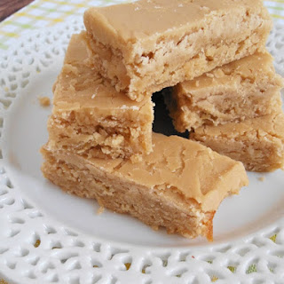 Banana Blondies with Brown Sugar Frosting
