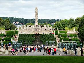 Photo: Park Vigelanda w Oslo