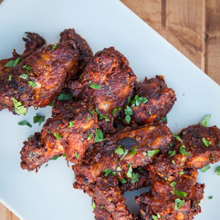 Chicken Wings with Easy Mole Sauce