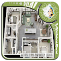 3D House Plans Inspiration icon