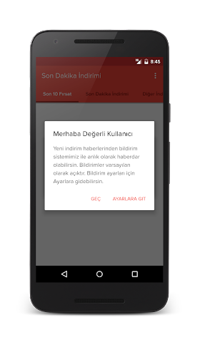 android Son Dakika İndirimi Screenshot 3
