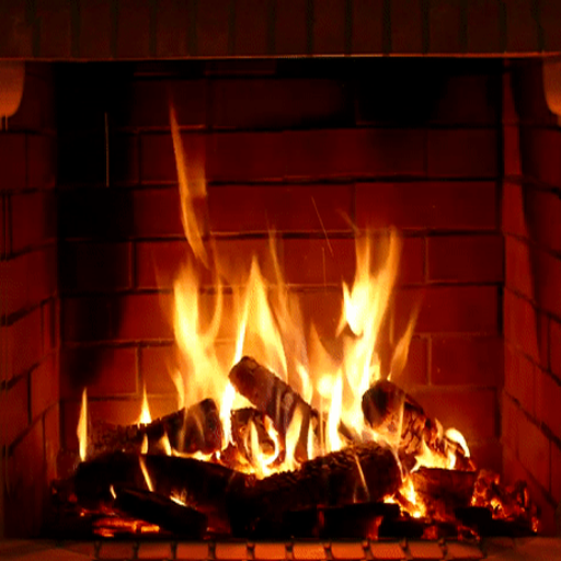 Relaxing Fireplaces - No ads Icon