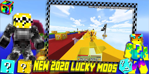 Lucky Craft Mods: Lucky Block Race Mod For MCPE 3 6