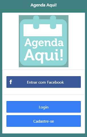 android Agenda Aqui! Screenshot 0