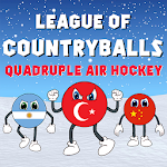 Quadruple Air Hockey - League Of Countryballs icon