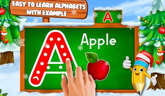 Tracing And Writing Alphabets And Numbers Book - náhled