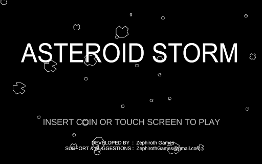 Asteroid Storm FREE - screenshot