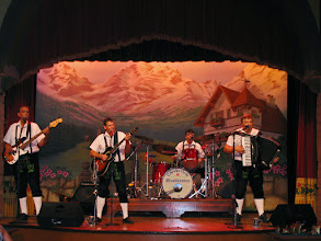 "Photo: Biergarten in Germany features the Oktoberfest Musikanten, a great ""oompah band""."