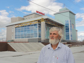 Photo: Новое здание ж/д вокзала, пока неработающего.
