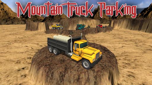 Mountain Truck Parking Sim