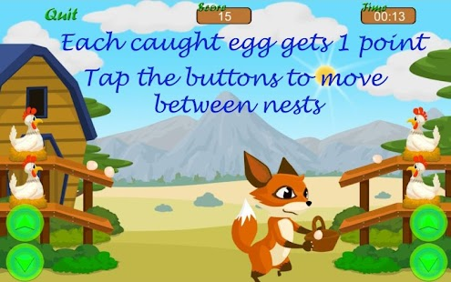 Eggmania - Eggs Catcher- screenshot thumbnail