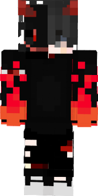 Anime Red Mask boy, fire related, INSANE!