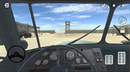 RussianMilitaryTruck: Simulator apktram screenshots 4