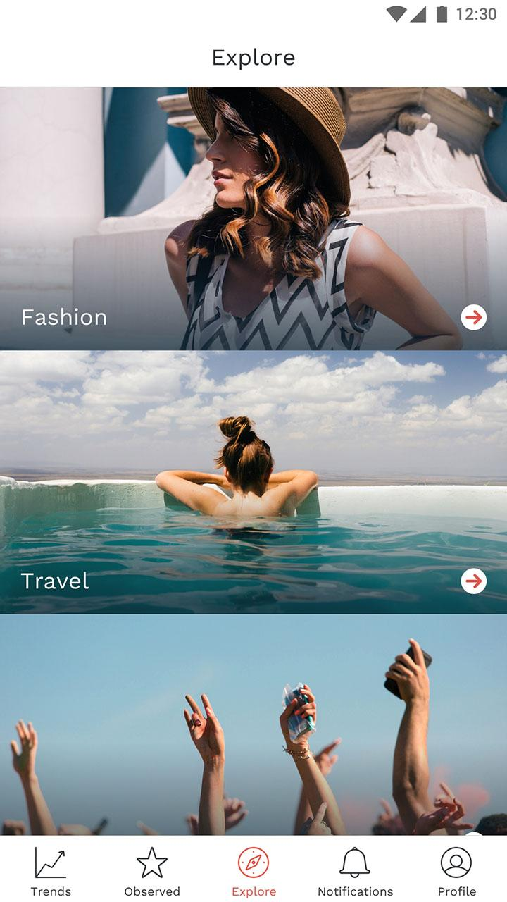 Скриншот Loom: for influencers & brands