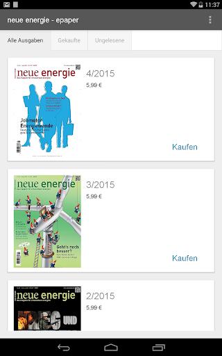 neue energie - epaper