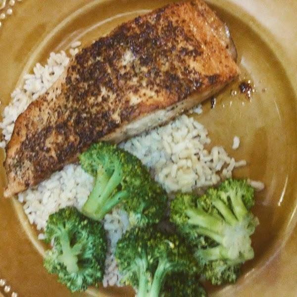 Complete Seasoning Seared Salmon Recipe