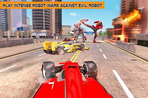 Cheetah Robot Car Transformation Formula Car Robot filehippodl screenshot 5