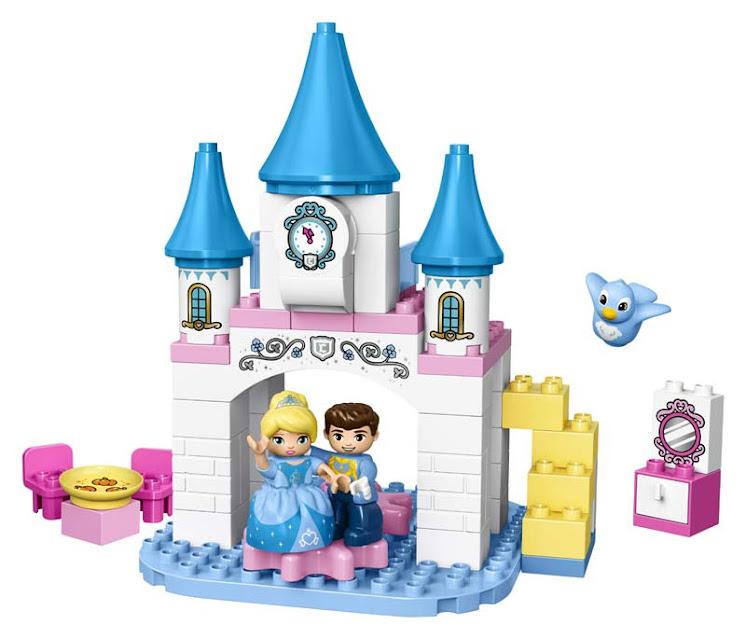 Contenido de Lego® 10855 Castillo Mágico de Cenicienta