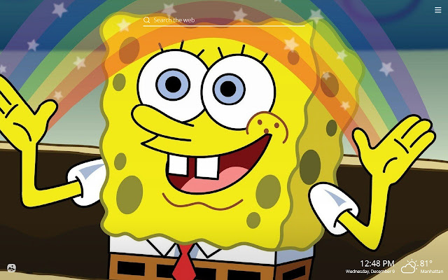 Sponge Bob Hd Wallpapers New Tab Theme