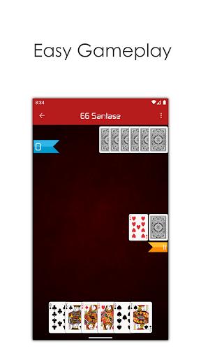 66 Online - Play Multiplayer Santase Card Game 7.6 screenshots 3
