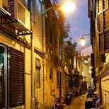 Taipa narrow streets in Macau in Macau, , Macau SAR