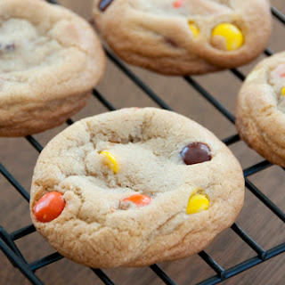 Soft-Baked Reeses Pieces Cookies