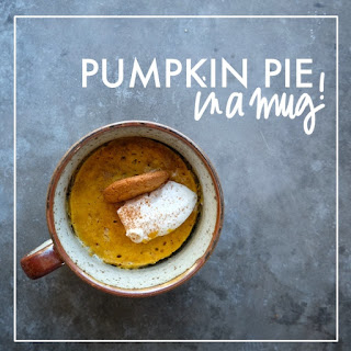 Pumpkin Pie in a Mug