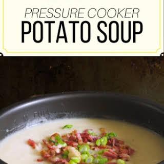 Pressure Cooker Potato Soup.