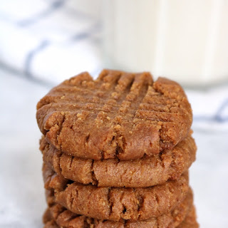 Brown Sugar Cinnamon PB Cookies