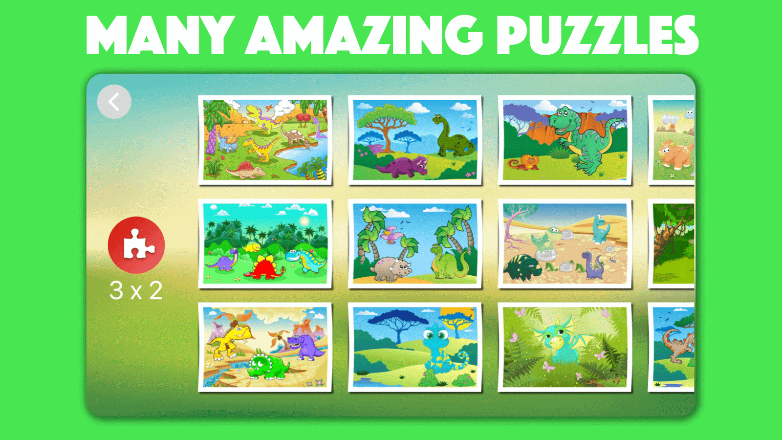 Dinosaur Jigsaw Puzzles for kids & toddlers 🦎 - Android ...