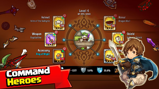 Crazy Defense Heroes: Tower Defense Strategy Game apktram screenshots 14