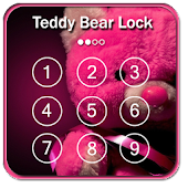 Teddy Bear Keypad lock Screen
