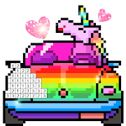 Pix123 - Color by Number, Pixel Art Relaxing Paint