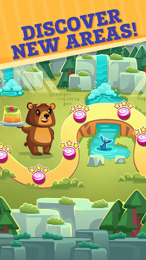 Sweety Kitty: Match-3 Game - screenshot