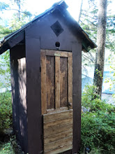 Photo: Yes it's real but there was indoor plumbing as well :)