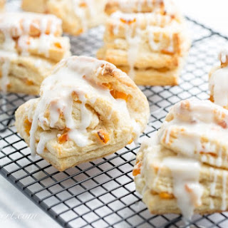 Buttery Apricot Scones