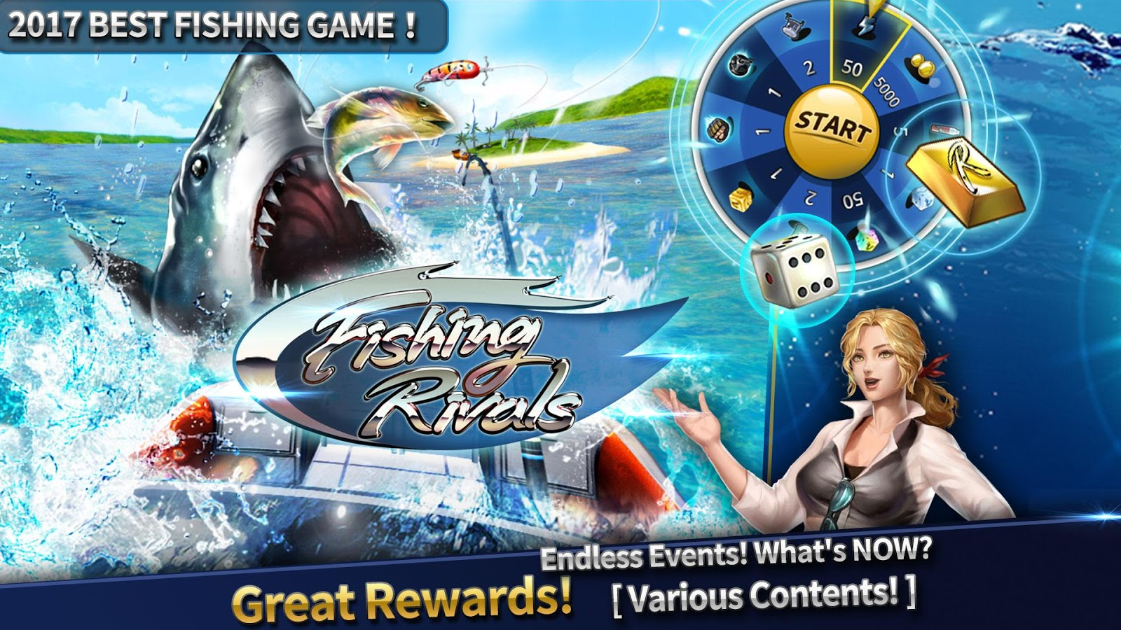 Fishing rivals hook catch android apps on google play for Fishing hook game