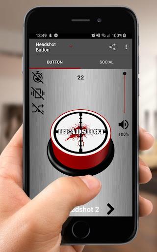Boom Headshot Sound Button screenshot 1