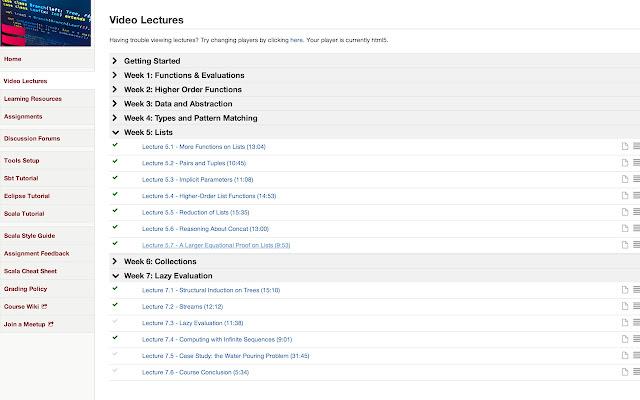 Coursera Progress